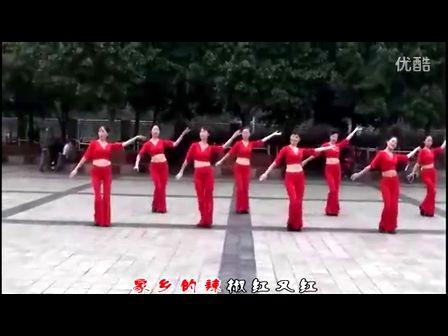 周思萍广场舞-红月亮广场舞