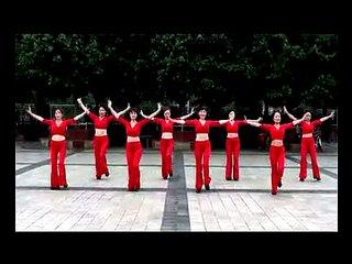 周思萍广场舞系列 吉特巴红月亮