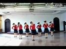 紫蝶踏歌广场舞教学(健康舞系列)红月亮