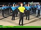 迪斯科广场舞《一路歌唱》32步