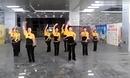 舞迷之腆广场舞 谁是我的郎 室内团体舞蹈视频