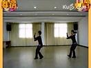 最新健美广场舞金珠玛 室内双人舞蹈