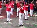 天缘广场舞 踏浪 篮球场上舞蹈视频
