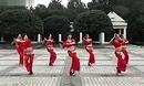 周思萍广场舞 印度风情 印度舞曲 团体广场健身舞
