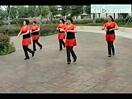 新桥广场舞 苦咖啡32步 团体广场健身舞蹈