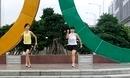 嫣红广场舞 感动天感动地 38步双人广场健身舞