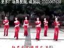 广场舞红月亮 团体休闲自由舞蹈表演视频
