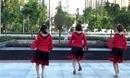 姐妹广场舞 踏浪 三人组合自由舞蹈演示