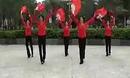 扇子舞《欢聚一堂》广场健身舞