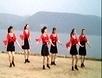 安寨梦梦广场舞《高原蓝》乌兰托娅演唱