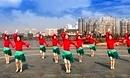 春英广场舞《新年恰恰恰》恰恰舞蹈演示正面江西鄱阳广场