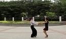 凤凰香香广场舞 为你等待 双人四步伦巴舞蹈演示