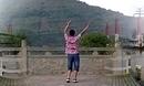 凤凰六哥广场舞 天堂草原 附背面分解动作舞蹈教学