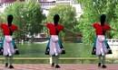 春花广场舞 洗衣歌 红歌 原创舞蹈 附分解舞蹈教学