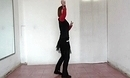 鲁山鹤馨广场舞 最爱民族风 正面完整演示及分解动作舞蹈教学