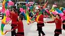 山水悦城莱州第二届广场舞决赛三教北流舞蹈队欢聚一堂