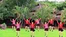 紫云英广场舞《火火的爱》双人跳、抠像变队形