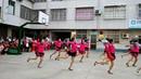 大镇镇富港村参赛节目次真拉姆,向前冲串烧广场舞