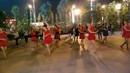 陆亚亚广场舞《小河淌水》编舞:亚亚 演示:部分队员