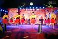 南靖县南坑社区芳芳广场舞《快乐给力》变队形