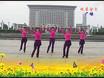 晚霞金色广场舞《北京的金山上》