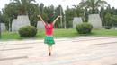 姐妹芳芳广场舞《北京的金山上》