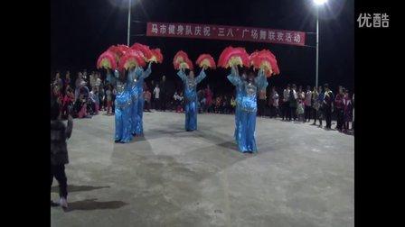快乐姐妹广场舞《中国美》