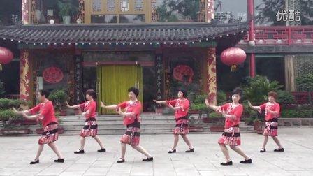 爱玲广场舞2016年最新版《纳西情歌》