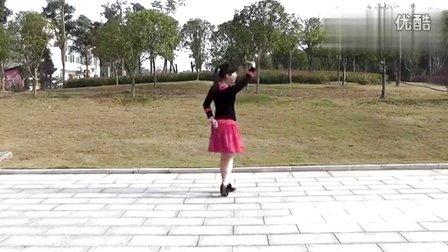动动广场舞《我的快乐就是想你》正反面及分解