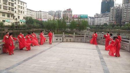 耒阳西湖木兰队 广场舞欢聚一堂