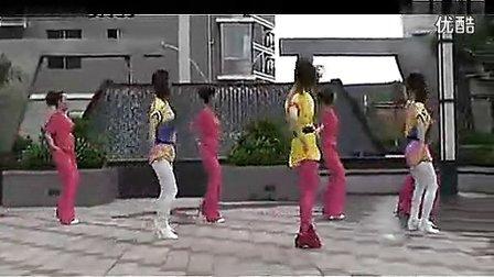 瑞金丽萍广场舞《街舞》背面分解和演示