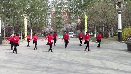 好姐妹广场舞《一起向北》