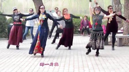紫竹院广场舞《为你等待》带歌词字幕