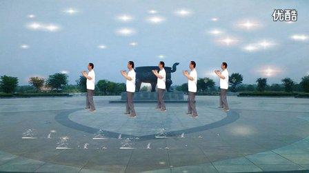 丈地广场舞《山歌牵出月亮来》32步