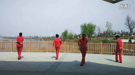 沂南苏村南良水健身广场舞《北京的金山上》