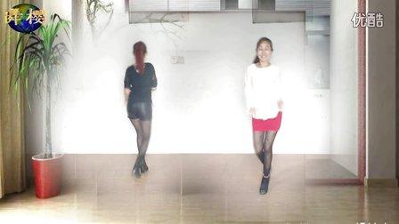 樱花幽梦广场舞、粉红色的回忆、双人对跳、编舞:阿采
