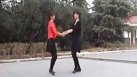 奥妹广场舞《红尘情歌》双人舞