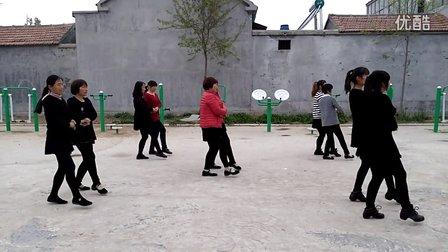 快乐青春广场舞《红雪莲》双人舞