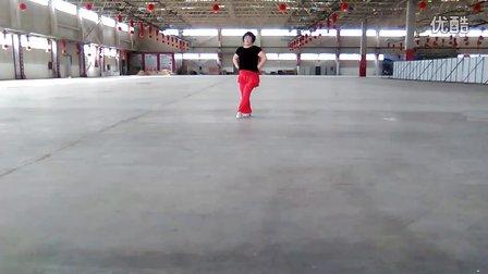 鑫雨广场舞《西海情歌》个人版