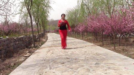 青州南阳湖畔广场舞《谁是我的郎》