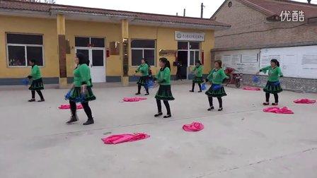 山西省翼城县孝义村广场舞《中国歌最美》