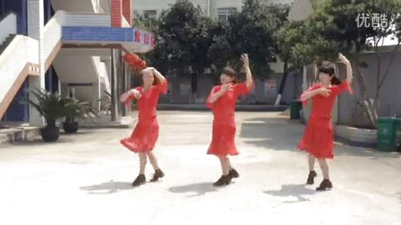 华娣广场舞《印度桑巴》舞蹈
