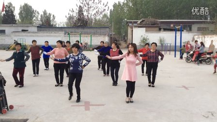 东平镇西辛庄广场舞《粉红色的回忆》