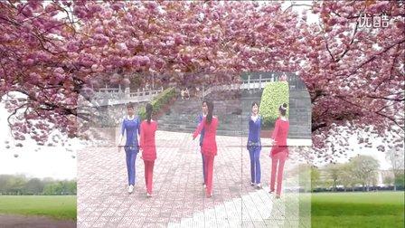 广西武宣翠娥广场舞《粉红色的回忆》