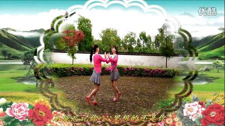 金盛小莉广场舞《粉红色的回忆》双人对跳附分解