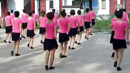 大路沟村广场舞《烟花三月下扬州》