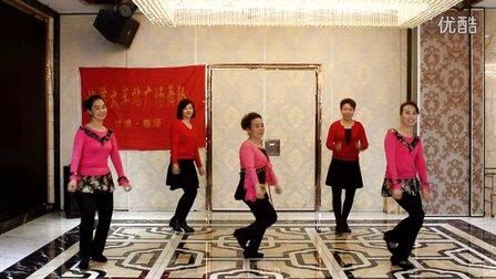 临泽火车站广场舞《纳西情歌》