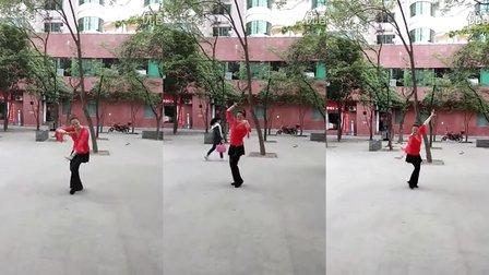 燕林小区广场舞《雪山姑娘》