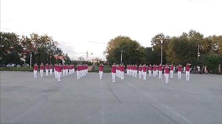 兴十四村广场舞比赛 佳木斯快乐舞步