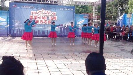 八都舞出快乐亚虎娱乐,亚虎娱乐app,亚虎777娱乐老虎机队比赛节目《小小新娘花》